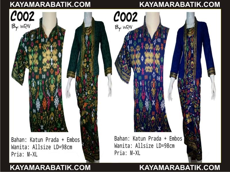 0034 Batik Kontemporer murah