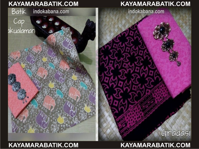 0029 Kain Batik Sutra murah