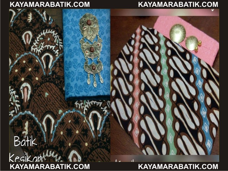 0030 Kain batik seragam oke