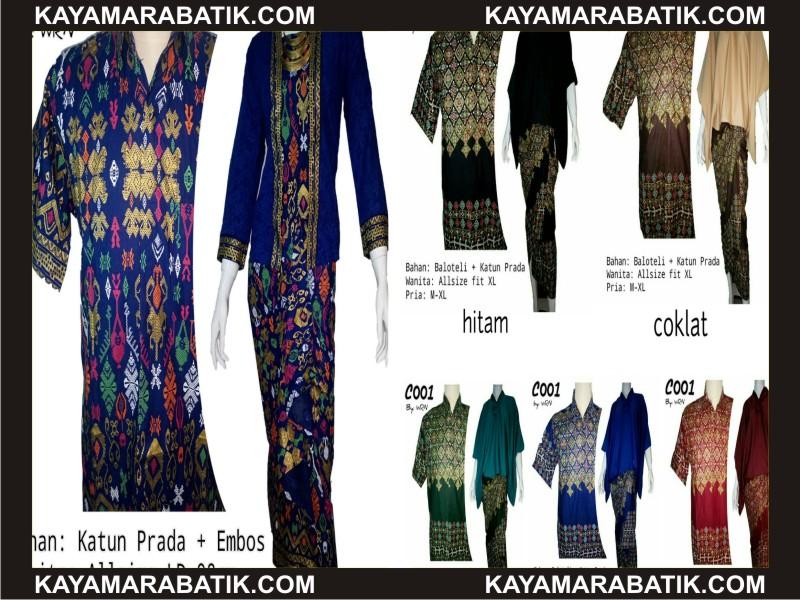 0033 seragam batik serasi
