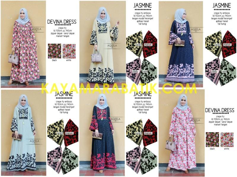 0001 Batik Muslim Berkerudung