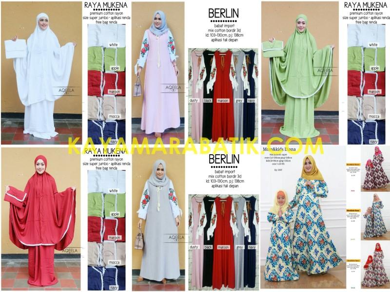 0002 Batik Muslimah