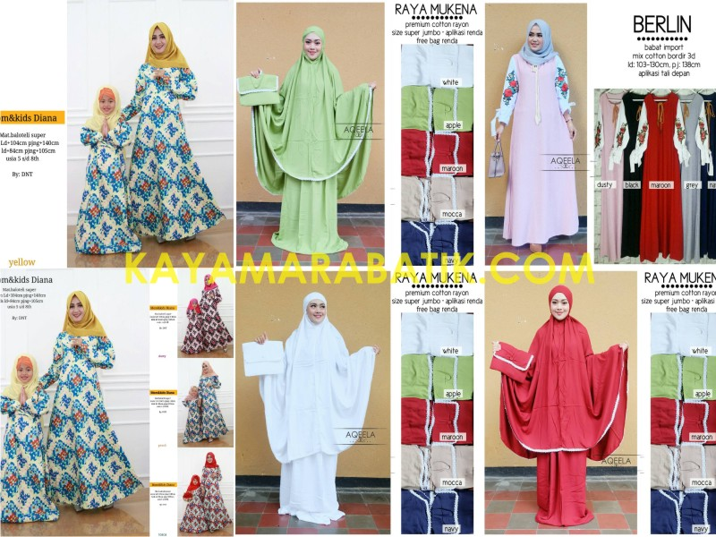 0003 Mukena Batik