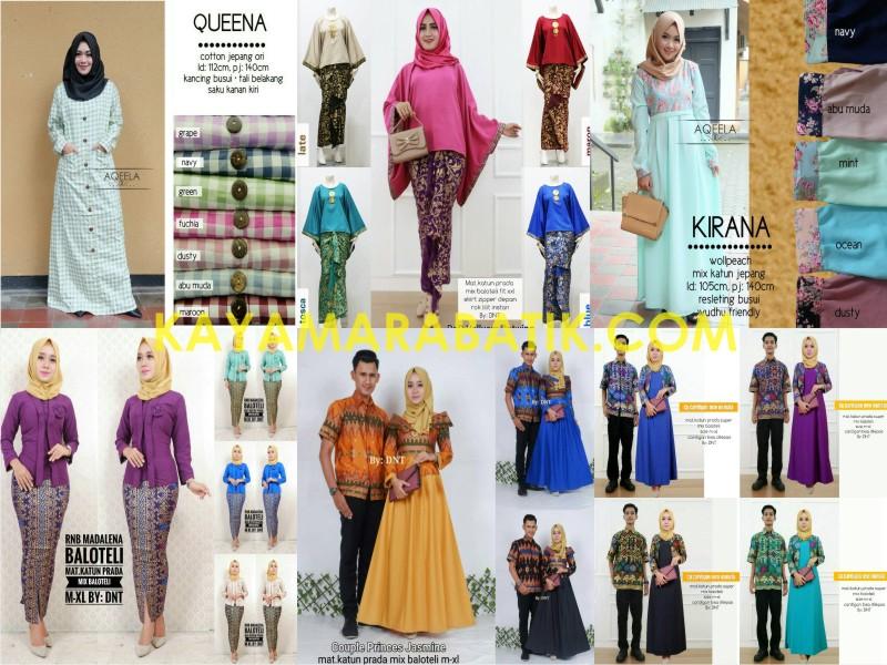 0008 Mukena seragam batik