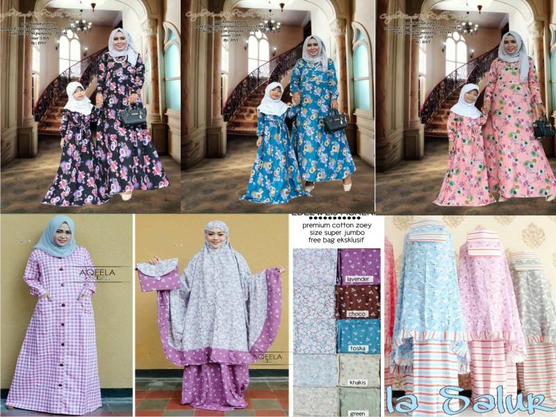 0011 Mukena dan seragam batik