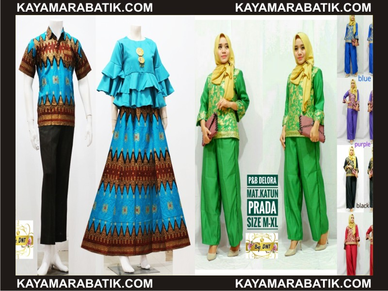 0017 Seragam batik cowok