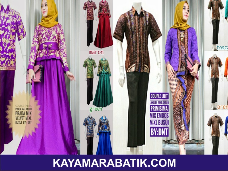 002 batik seragam ibu dan anak