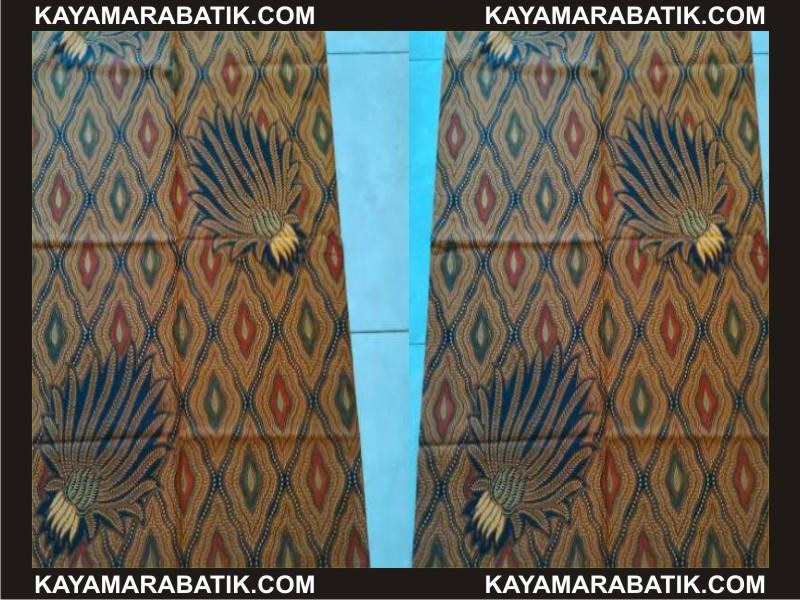 0020 Seragam batik gamis solo