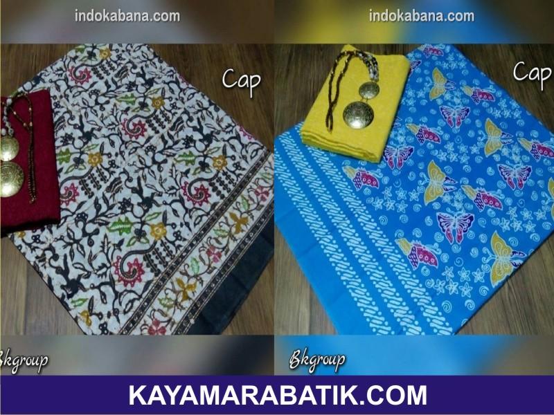 003 batik seragam ibu dan anak kain