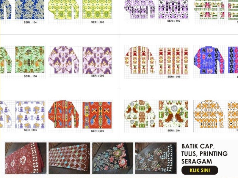 3 Seragam Batik BRI Inspirasi
