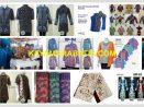 Model Seragam Batik Muslimah Biru