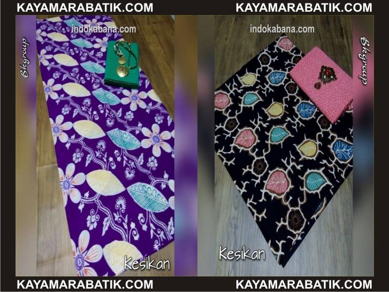 0035 Nmodel seragam batik kombinasi