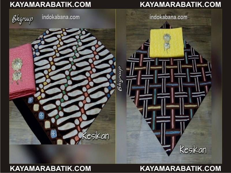 0035 Omodel seragam batik kombinasi