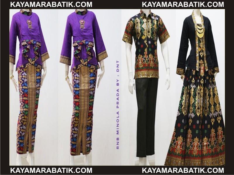 0035 model batik kerja wanita modern