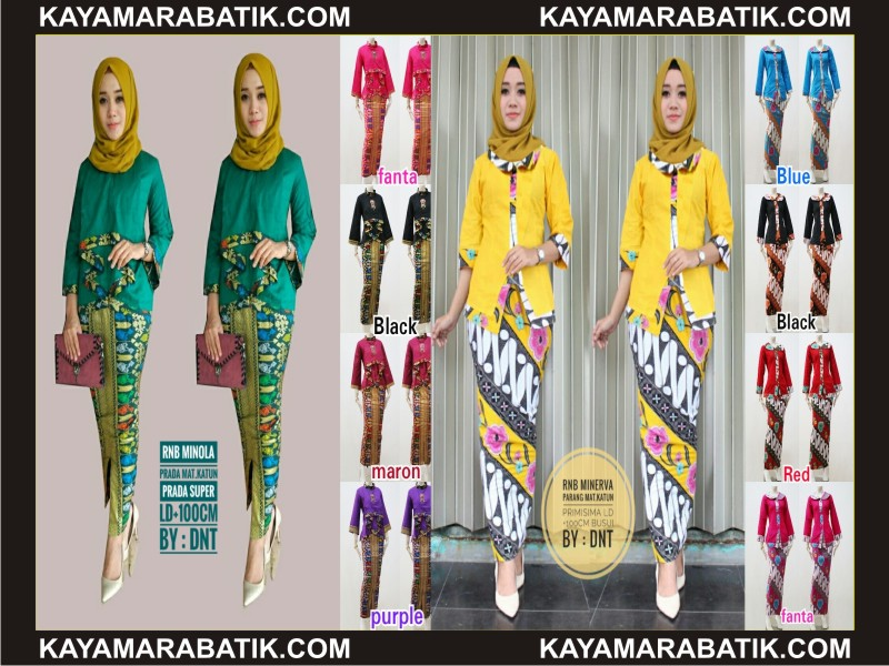 0035 model seragam batik pramugari