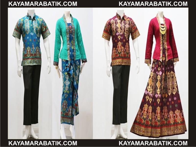 0036 Gmodel gamis batik kombinasi