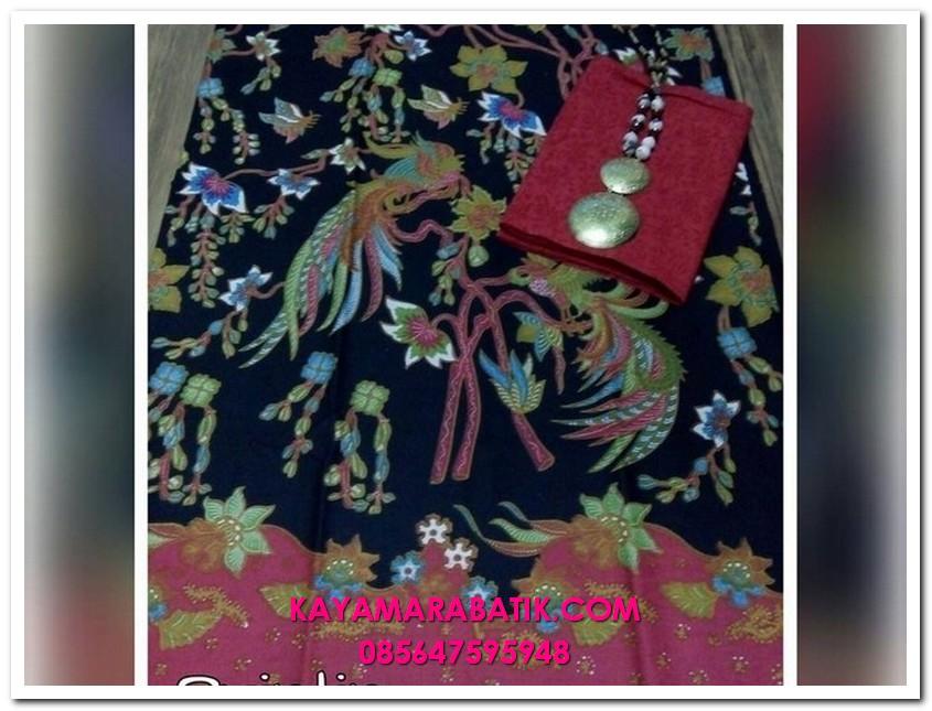 0041 4KainSeragamBatikmodel baju seragam keluarga untuk lebaran