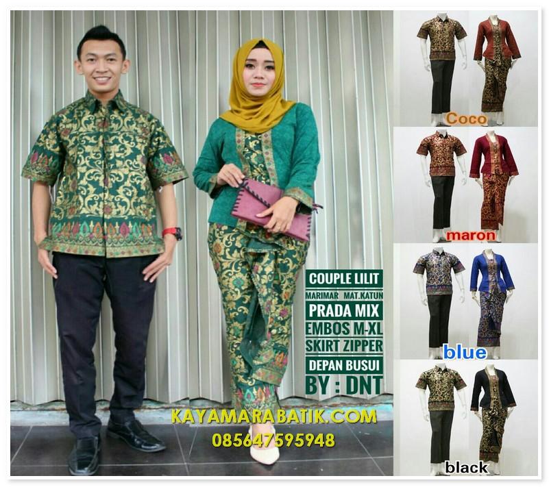 Batik Seragam Pasangan - KAYAMARA BATIK  9bcd94a796