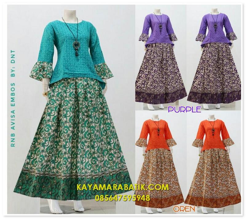1690 batik seragam pasangan