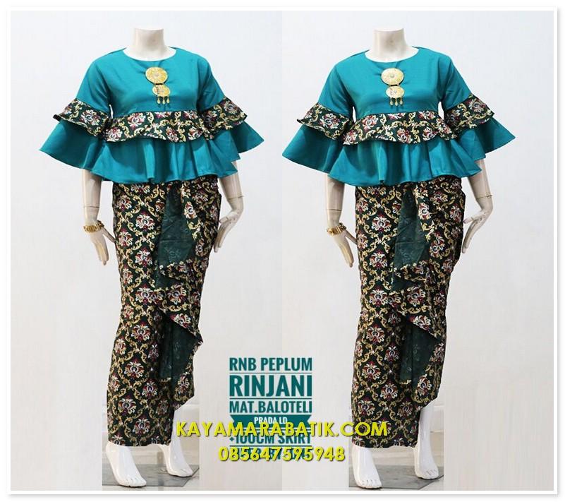 1704 model baju seragam pkk nasional