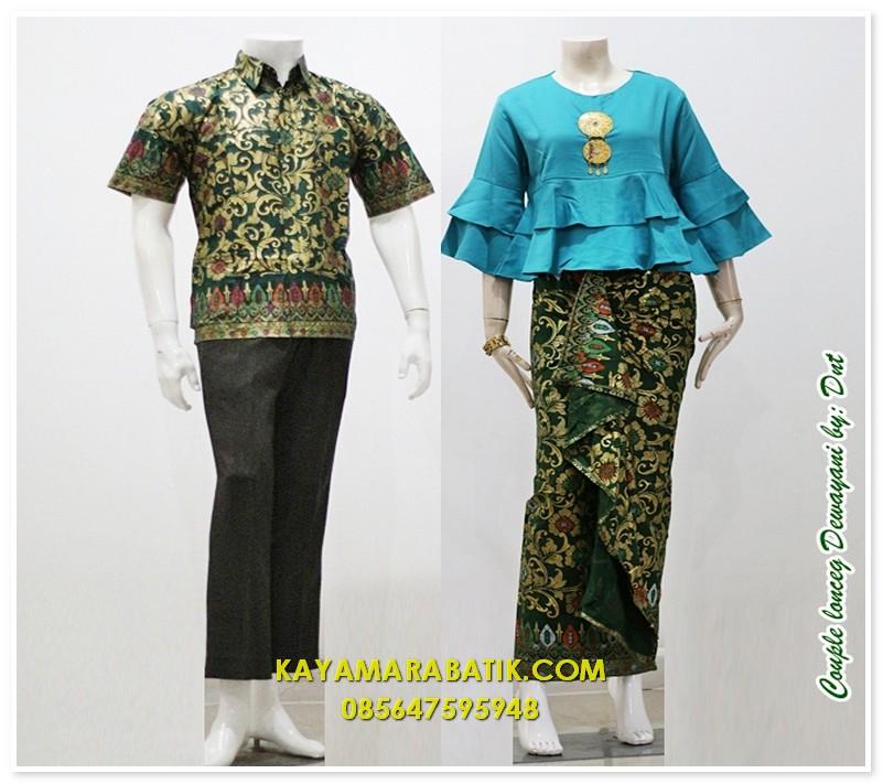 1789 seragam batik bank elegan