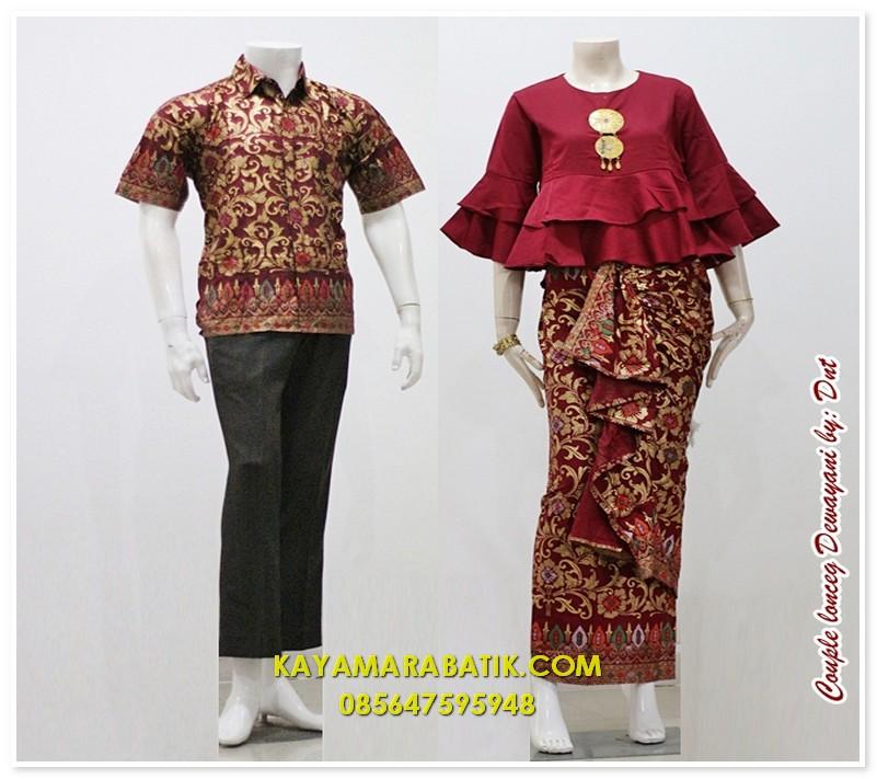 1790 seragam batik bank elegan