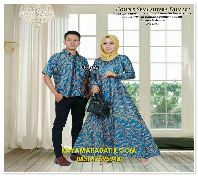 1873 seragam batik couple