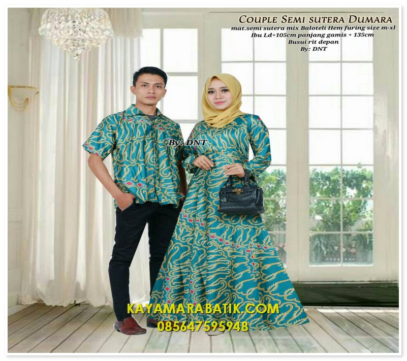 1875 seragam batik couple