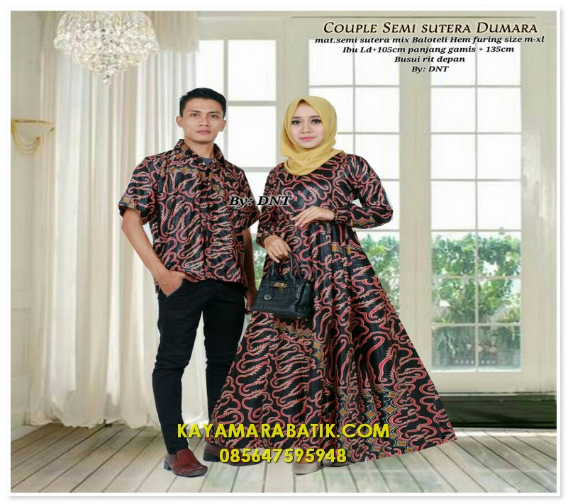 1876 seragam batik couple