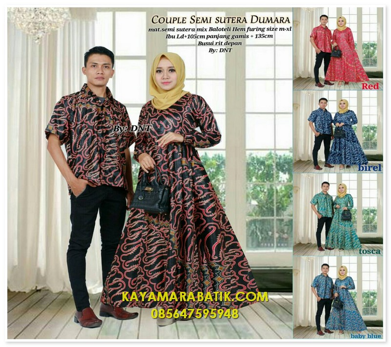1878 seragam batik couple