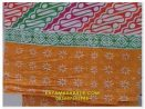 Seragam batik wanita kombinasi