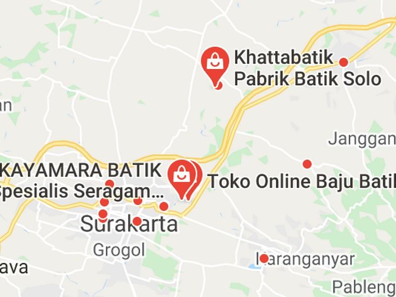 peta batik farmasi