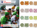 Seragam batik TPA TPQ Indonesia