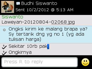 Testi Kayamara Batik 02