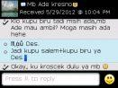 Testimoni Mb Ade Kresno pesan kain batik motif kupu