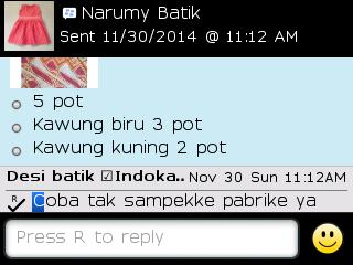 Testi Kayamara Batik 101