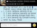 Testimoni Meytha pemesanan Rainbow Batik