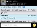 Testimoni Dwi Mira pesan 12 potong kain batik