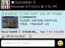 Testimoni Quintasari Batik