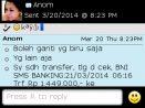 Testimoni Anom Pemesanan Batik