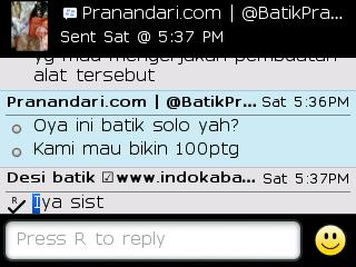 Testi Kayamara Batik 67