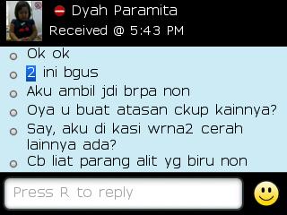 Testi Kayamara Batik 70