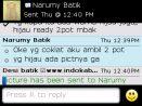 Testimoni Narumy Batik