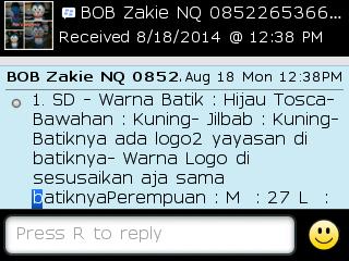 Testi Kayamara Batik 83