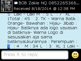 Testi Kayamara Batik 84
