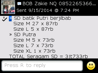 Testi Kayamara Batik 87
