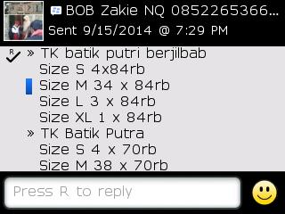 Testi Kayamara Batik 88