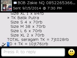 Testi Kayamara Batik 89