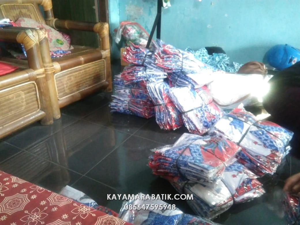 Seragam batik Olympic 03