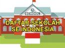 Data Daftar Sekolah di Kota Palembang